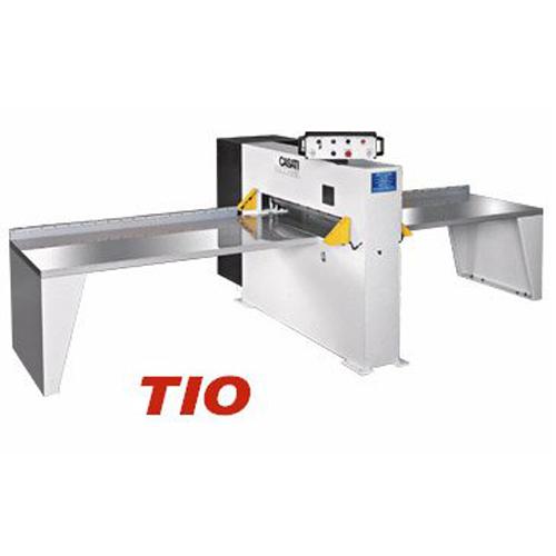 TIO1300/1450: Taglierina oleodinamiche per l'intestatura di pacchi di impiallacciatura